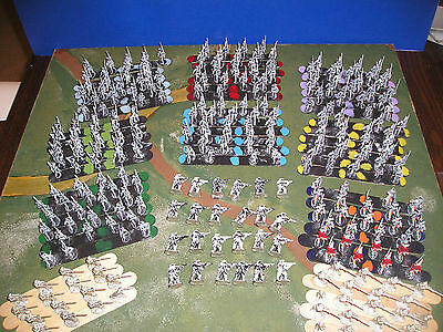 25mm RSM Seven 7 Years War 7YW infantry part painted and unpainted metal foot