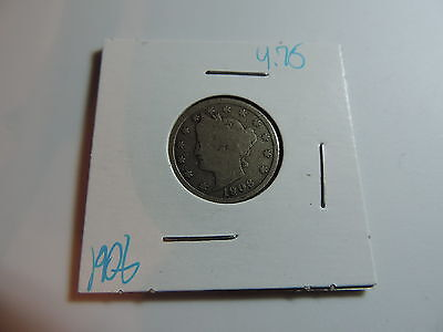 1906 US American Nickel coin A480