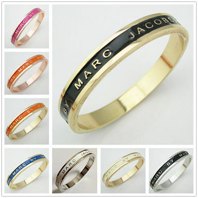 Hot Sale Marc By Marc Jacobs 12 Colors Letters Bangle Bracelet