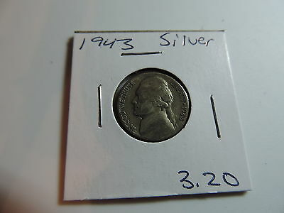 1943 US American Nickel coin A524