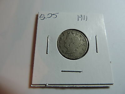 1911 US American Nickel coin A476