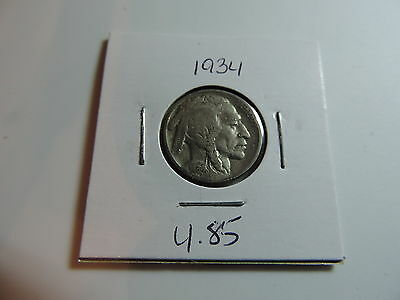 1934 US American Nickel coin A497