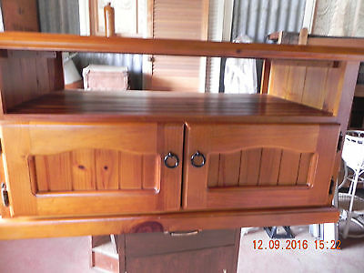 TV Cabinet. As New, Small Scratch On Top.