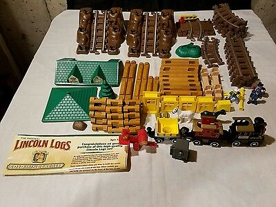 Lincoln Logs Goldmine Express