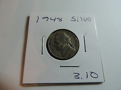 1948 US American Nickel coin A543