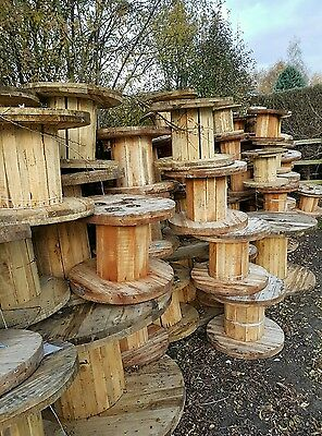 wood cable reels