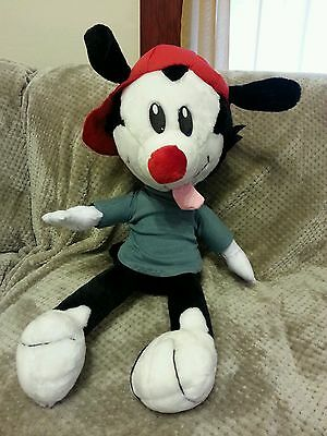 "RARE Vintage Looney Tunes ANIMANIACS WAKKO LARGE 24"" Plush Stuffed Ace Novelty"