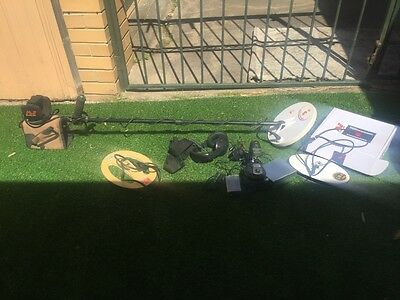 Minelab F1A4 metal detector LEVEL 3 with EXTRAS