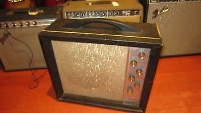Vintage 1960's Silvertone Model 1472 Combo Amplifier for Electric Guitar