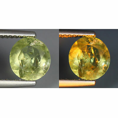 1.50 Cts_World Class Rarest Gemstone_100 % Natural Color Change Turkey Diaspore