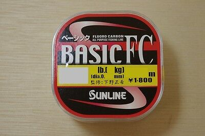 SUNLINE BASIC FC FLUOROCARBON LINE 225m-300m CHOOSE YOUR LINE WEIGHT