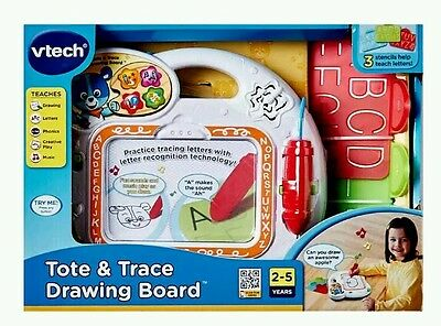 V-tech Tote & Trace Drawing Board 2 - 5 Yrs Educational Toy