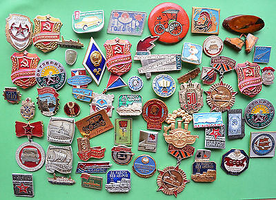 Lot of Commemorative badges  of the USSR
