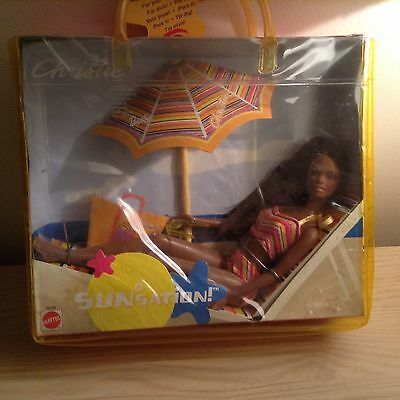 Collectable Mattel Christie Barbie Sunstation Boxed Unused