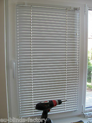 Aluminium Venetian Blinds - Made to measure based on your size
