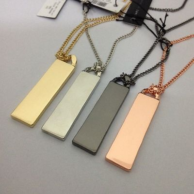 2017 Sale Marc By Marc Jacobs 4 Colors Letters Tag Pendant Long Necklace