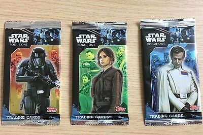 Star Wars Rogue One Topps Trading Cards - Choose 15