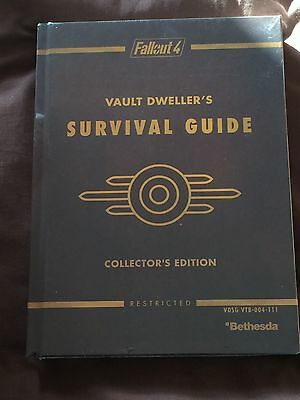 NEW. STILL SEALED Fallout 4 collector's edition guide vault dweller's survival