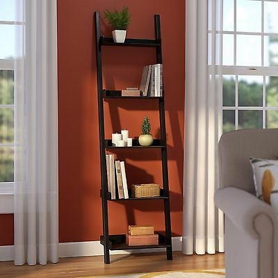 """67"""" Leaning Bookcase"""