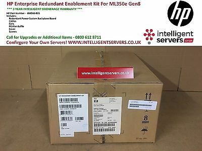 HP Enterprise Redundant Enablement Kit For ML350e Gen8