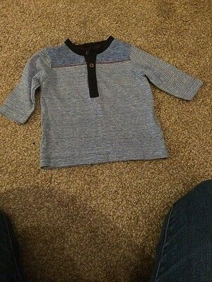 Baby Boys Next Long Sleeved Top 0-3 Mths