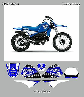 Yam Pw80 Team Graphics And Backgrounds Decals Moto X Stickers Decals
