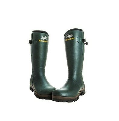 Rockfish Mens Walkabout Wellington Boots Evergreen - Sizes 8-11