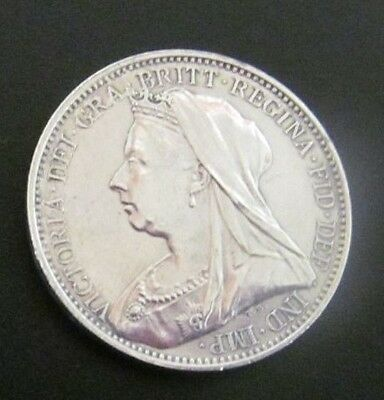 Victoria Maundy coin 1896