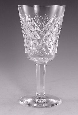 """WATERFORD Crystal - ALANA Cut - White Wine Glass / Glasses - 5 5/8"""""""