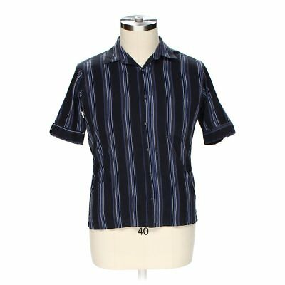 Ralph lauren blake cotton blue checkered short sleeve for Wharton cad