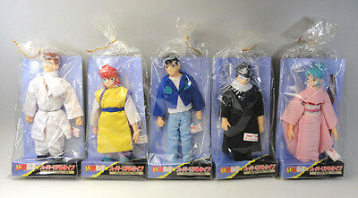 YU YU HAKUSHO Super Real Type Figure Complete Set of 5 Not For Sale