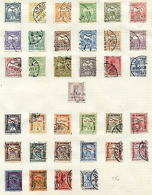 Hungary 1913-1920 very interesting MH/used lot