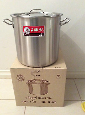 Brand New Stainless Steel Stock Pot 28cm