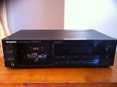 Vintage antique Pioneer cassette deck please refer to pictures MAKE AN OFFER