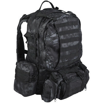 Mil-Tec Defense Pack Assembly Expedition Backpack Military Rucksack Mandra Night