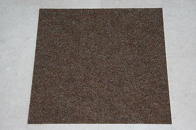 Quality Bedford Brown Carpet Tiles Commercial Domestic Office Heavy Use Flooring