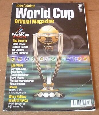 1999 Cricket World Cup Official Magazine (128 Pages).