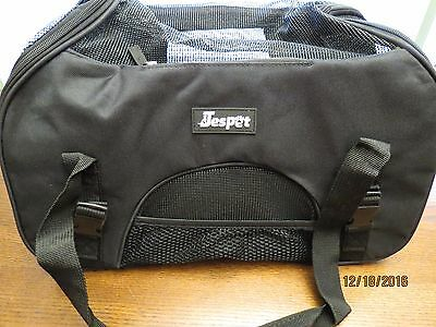 "Jespet Portable 18"" Soft Sided Pet Carrier Cat Dog Small Animal Tote"