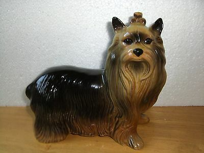Yorkshire Terrier Dog About 17cm High