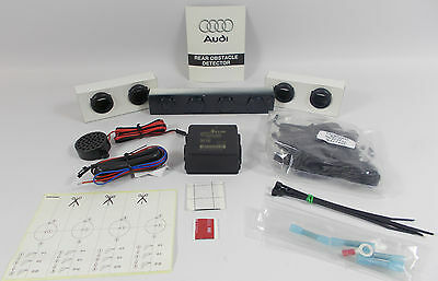 Genuine Audi A4 B8 Meteor Grey Lz7H Painted Rear Parking Aid Reverse Sensor Kit