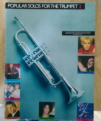 Popular solos for the trumpet 2. Music book 1988