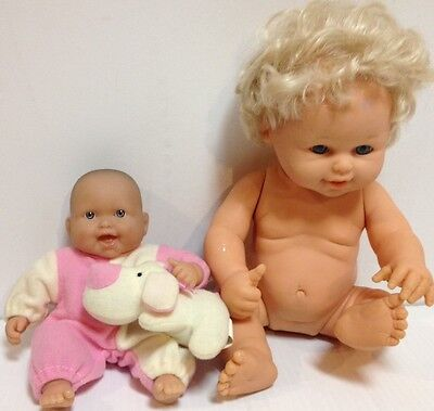 """Berenguer Dolls Mini And 12"""" Ready To Reborn"""