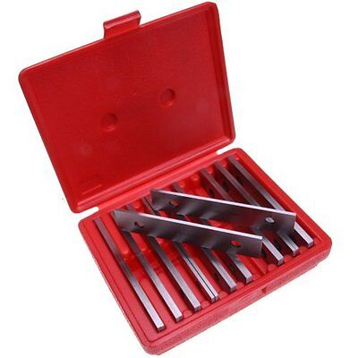 Anytime Tools Workholding Machinist Thin Parallel Jig Block Bar Tool Set 10Pairs