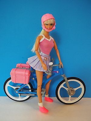 Barbie Doll with Bike and Helmet