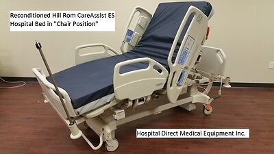 Reconditioned Hill Rom CareAssist ES Hospital Bed with 1 Year Warranty