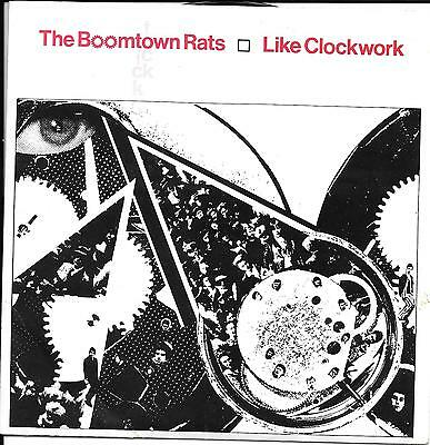 The Boomtown Rats - 'Like Clockwork' 7 inch Vinyl Single in Picture Sleeve