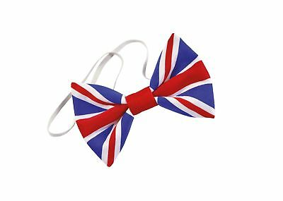 FANCY DRESS Union Jack Bow Tie. Cloth