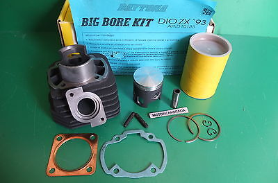 Honda Gp50 Gp 50  Daytona Big Bore Kit Cilindro Cylinder Zylinder Cc70 Mm47