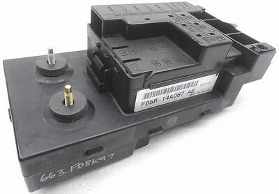 New Old Stock Ford F150 F250 Cabin Fuse Box Less Relays F85B-14A067-AB