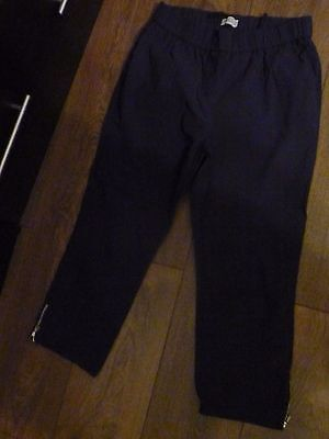 Adelina By Schelier Crop Trousers Size 14